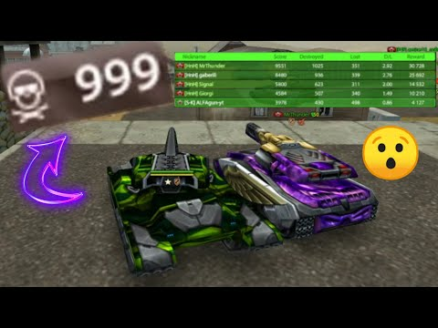 Tanki Online Mr Thunder's  EVENT!! - 999 Kills Until The End?!