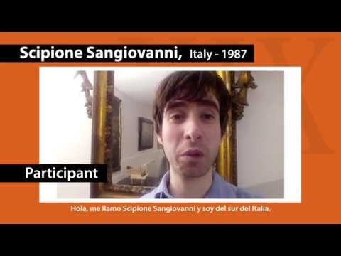 Scipione Sangiovanni / Participant of XIX Paloma O'Shea Santander International Piano Competition