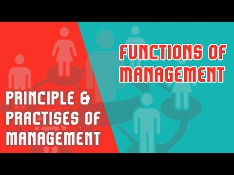Functions Of Management And The Roles Of Managers | PPM | MOD-1 (Part-2)