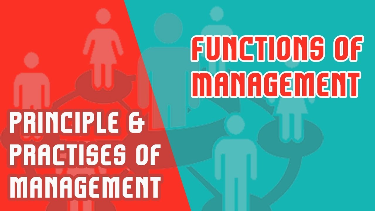 management functions and roles ppt