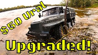 This Upgraded 6WD Ural RC Military Truck is awesome! But not waterproof! MZ YY2004