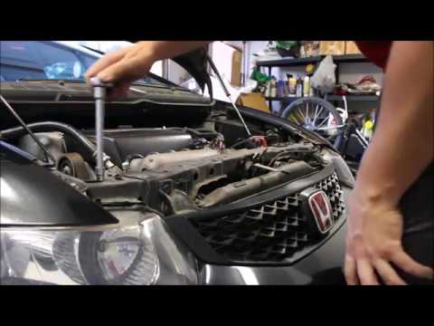 Knock sensor replacement 8th Gen Civic SI - YouTube