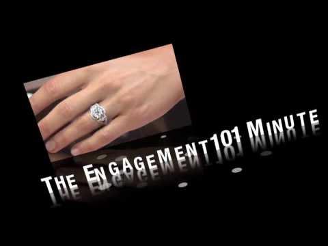 Center Diamond Engagement Ring
