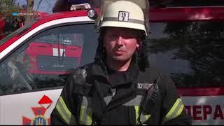 В Лузановке горело кафе: пострадал 16-летний парень