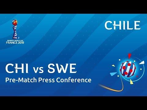 CHI v. SWE - Chile - Pre-Match Press Conference