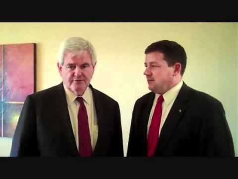 Newt Gingrich - I'm for Ed Martin & Clmate Change