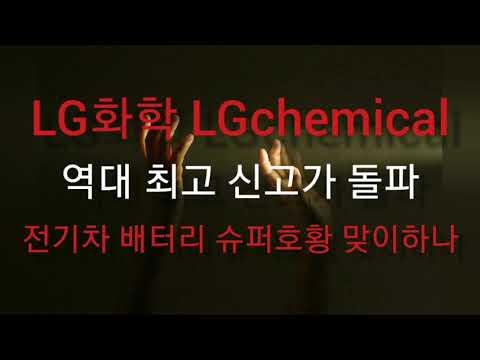 'LG화학', 역대 최고 신고가 돌파