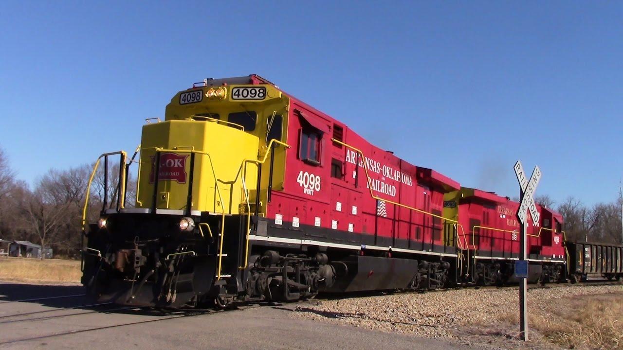 End of Year Railfanning around Heavener OK! 12-30-16 Part ...