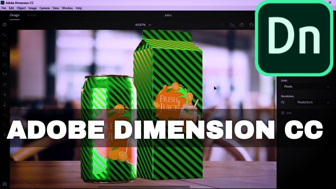 Adobe Dimension CC 2019 - What's New in Dimension CC 2019