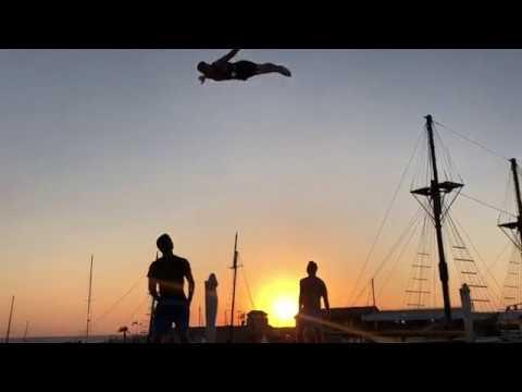 Promo Video Oleksii Kudrytskyi Trampoline Wall & Russian Swing Act