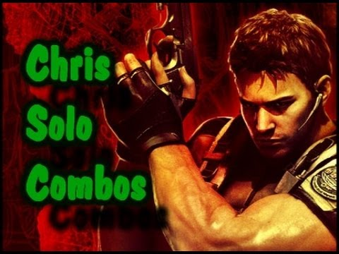 UMVC3: Chris Solo Combos