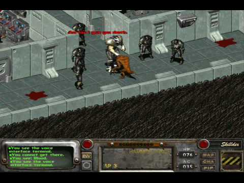 Fallout 2 What Happend With The Deathclaws In Vault 13?