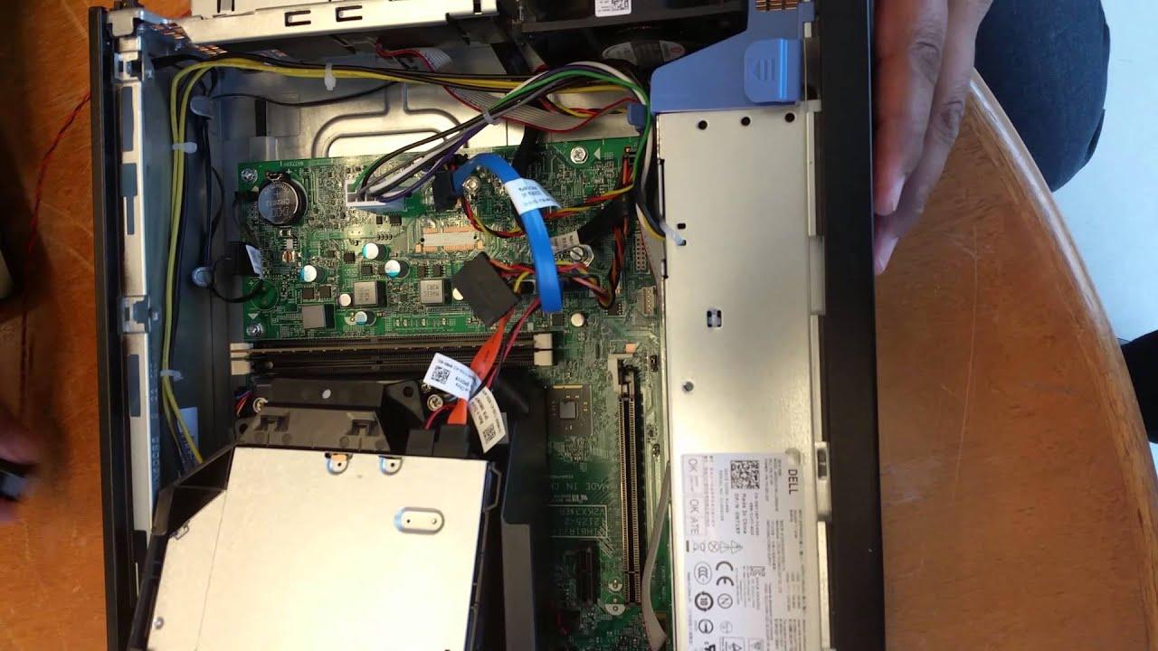 Dell Optiplex 3020 Internal Speaker Install