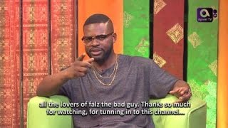 FALZ TheBahdGuy on GbajumoTV