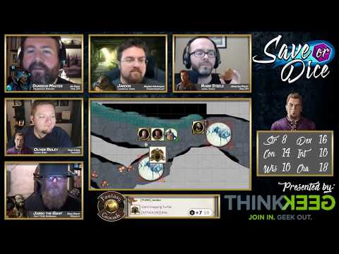 Save or Dice | Episode 9 - Ice-Cold Stare | Web DM, Nerdarchy, Taking20, DawnforgedCast