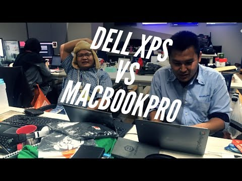 Dell XPS Vs MacbookPro - After Office Hour Chat