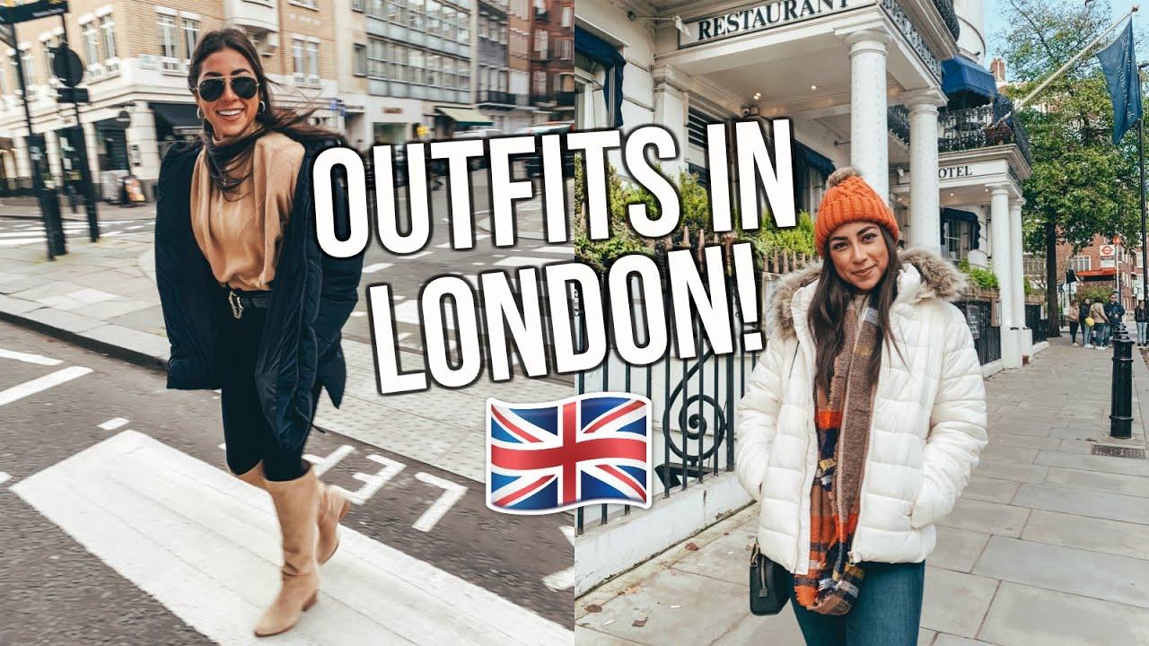 [VIDEO] - Winter Outfit Ideas: LONDON EDITION! | Week in London 2