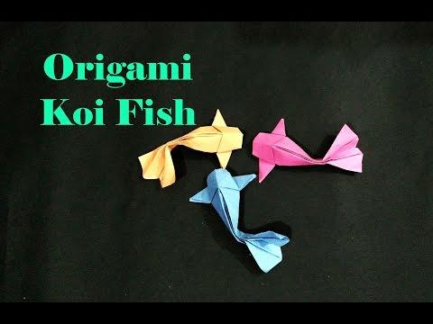 Tutorial: How To Make An Origami Koi Fish