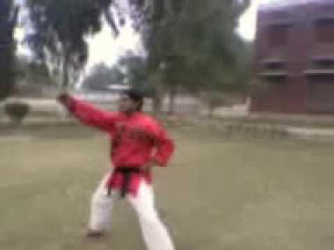 kata bando karate youtube