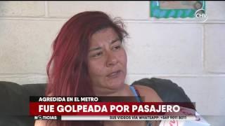Mujer denunció agresión de parte de un pasajero del metro - CHV Noticias