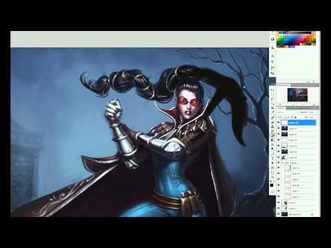 Vayne: Art Spotlight | League of Legends