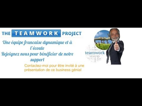 THE TEAMWORK  PROJECT- PRESENTATION FRANCAISE