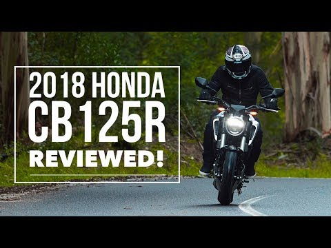 honda cb125r 2018 bikesocial review youtube. Black Bedroom Furniture Sets. Home Design Ideas