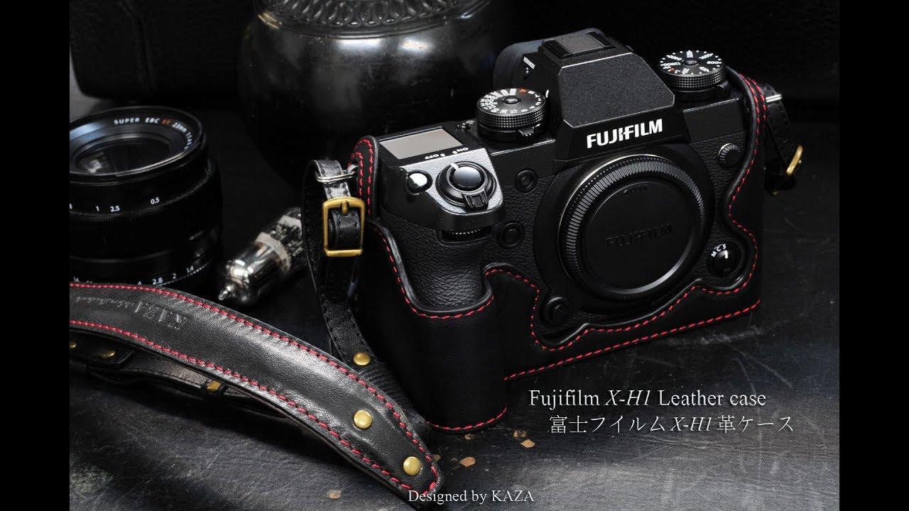 6ed1138ee6c Fujifilm X-H1 Case | Fujifilm Half Case | Leather Strap