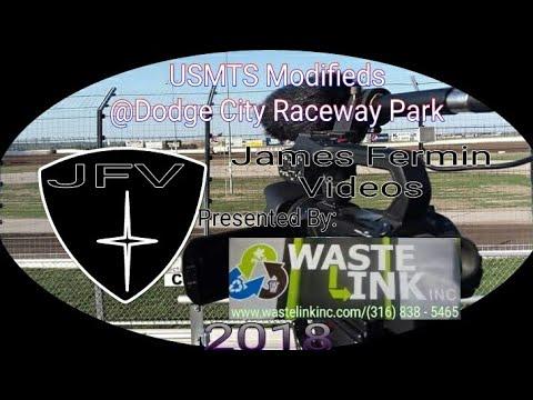 USMTS Modifieds #14, Heat 2, Dodge City Raceway Park, 06/08/18