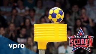 Makkelijk Scoren doet oproep: België, doe je best met korfbal!