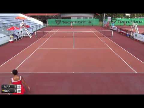 Marand Sanaz v Osaka Mari - 2017 ITF Petit-Bourg