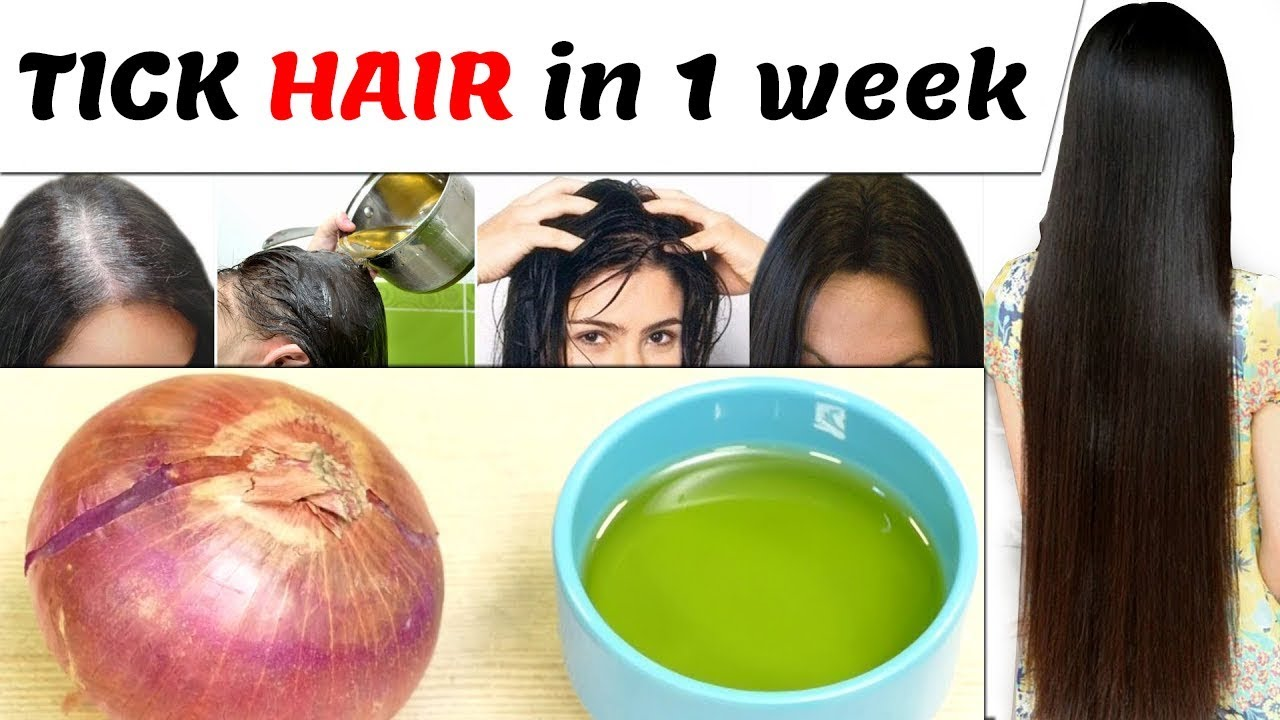 How To Get Long Hair In  Weeks Naturally