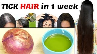 Gambar cover How to get Long and Strong Hair Naturally with in 2 Weeks | Home Remedies