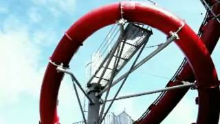 Worlds only water slide looping!