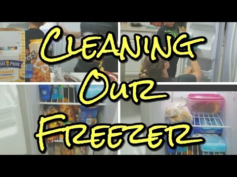 Cleaning our Freezer |  Cleaning Motivation | Cleaning with Kids