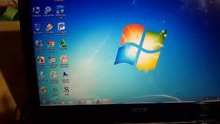 Cara Memperbaiki Laptop Acer Aspire One 722 c6cbb Hang Kena Virus PART 2