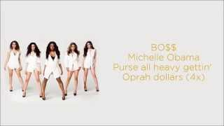 Fifth Harmony  - BO$$/BOSS (Lyrics)