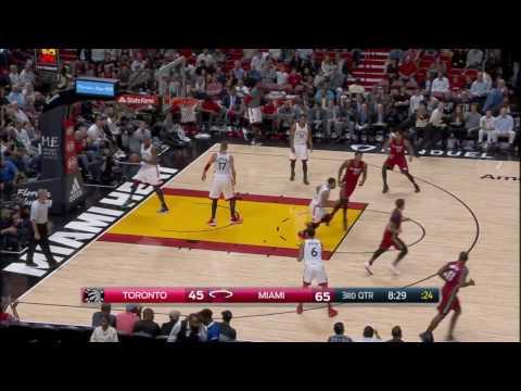 Toronto Raptors vs Miami Heat   March 11, 2017   NBA 2016-17 Season