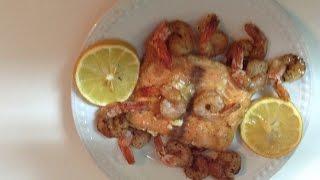 Maple Dijon Salmon and Shrimp