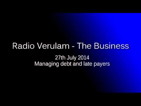 Managing late payments | 27th July 2014 | RV The Business |