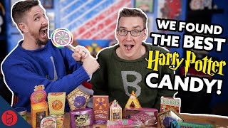 We Try EVERY Harry Potter Candy from Honeydukes [J vs Ben]