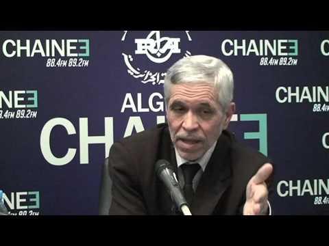 Invité de la rédaction de la radio Chaîne 3 : Chems Eddine Chitour