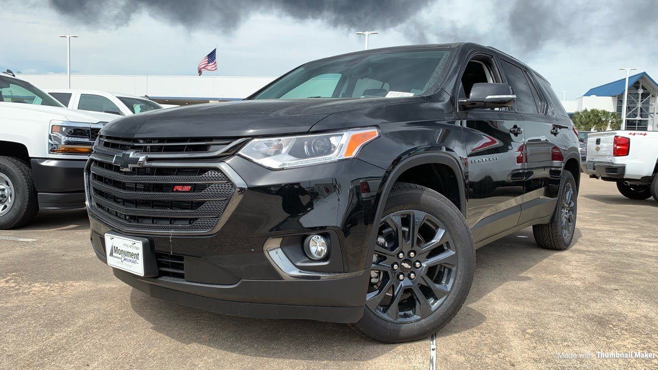 2019 chevrolet traverse rs  2 0 turbo  - review