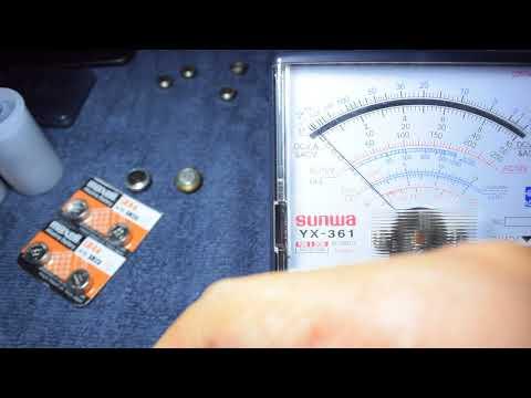 ว่ากันด้วยเรื่องของ battery PX625 และ adapter แปลง LR44/SR44 เป็น PX625