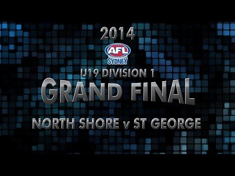 2014 Under 19 Division 1 Grand Final - North Shore v St George