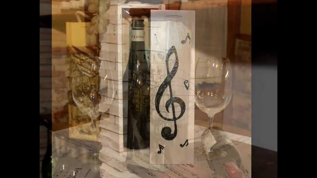 cajas para vino y productos gourmet youtube