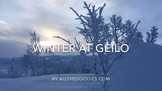 Winter at Geilo Norway