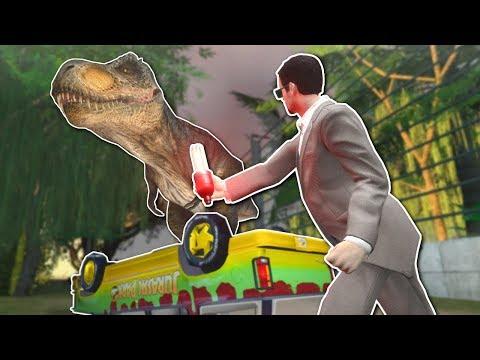 JURASSIC PARK SURVIVAL?! - Garry's Mod Gameplay - Gmod Dinosaur Survival
