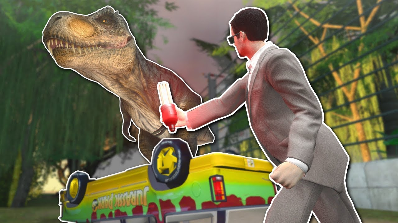 JURASSIC PARK SURVIVAL?! - Garry's Mod Gameplay - Gmod ...