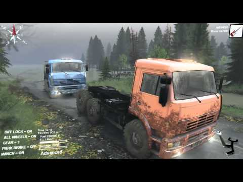 Spintires - The Flood - Episode 1
